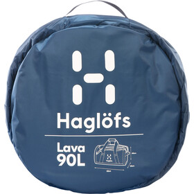 Haglöfs Lava 90 Duffel Bag, blue ink/tarn blue